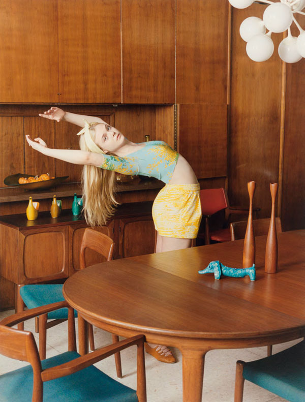 Elle Fanning for Self Service by Venetia Scott
