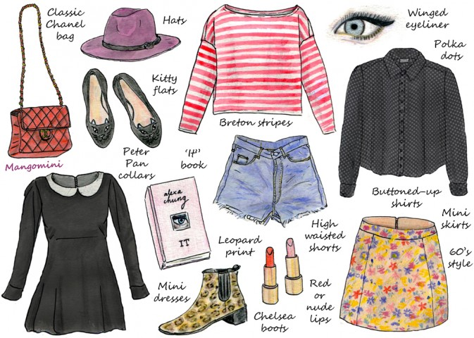how to dress like alexa chung