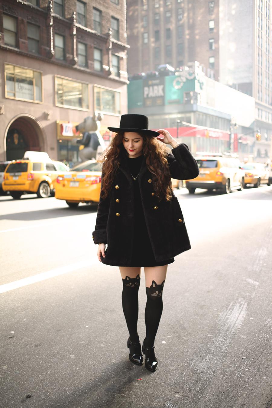 running around the city