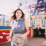 Steffy and I visit Coney Island!