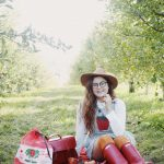 fall apple picking outfit!