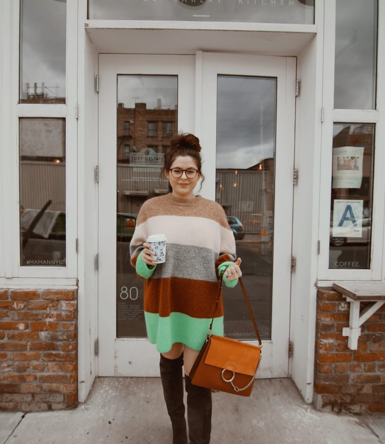 three striped sweaters I'm loving