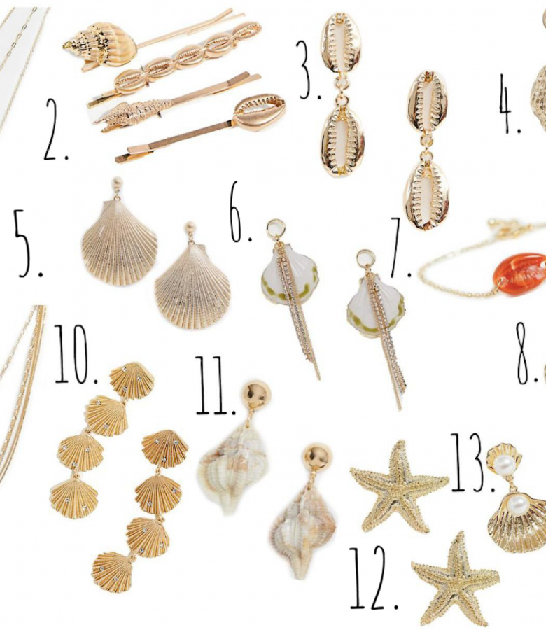 My Favorite Shell Jewelry!