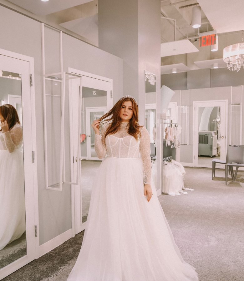 shopping for a second wedding dress!